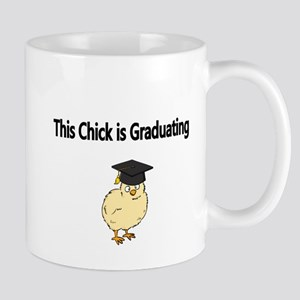 This Chick is Graduating-Black Mug