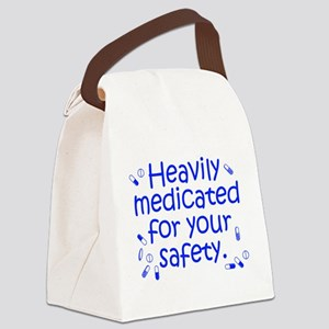 Heavily Medicated Canvas Lunch Bag