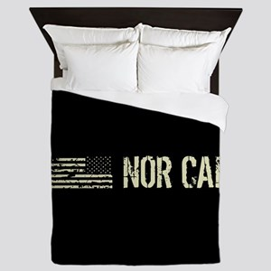 Black Flag: Nor Cal Queen Duvet