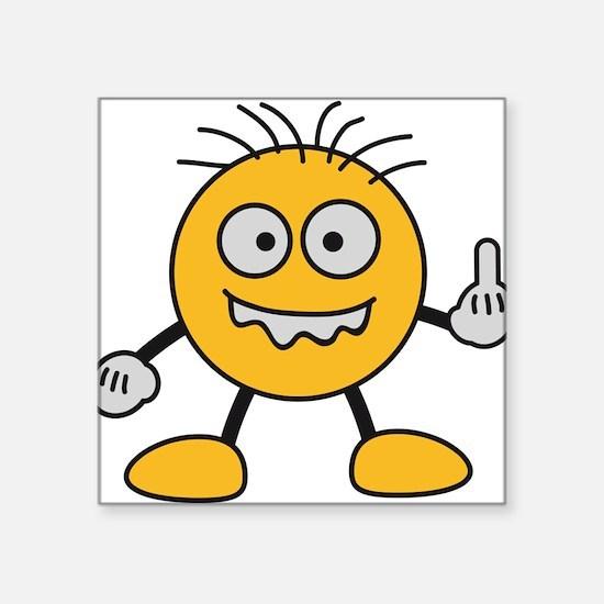 bad_finger Sticker