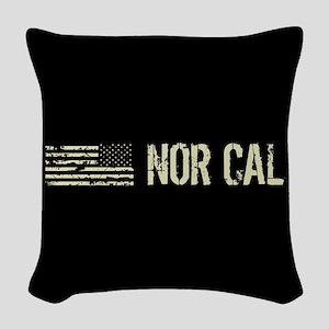 Black Flag: Nor Cal Woven Throw Pillow
