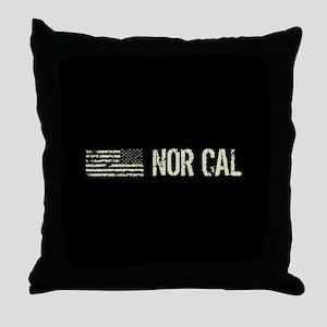 Black Flag: Nor Cal Throw Pillow