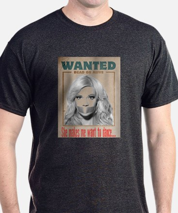Wanted Dead or Alive - Molly T-Shirt