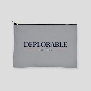 Deplorable Est 2017 Makeup Pouch