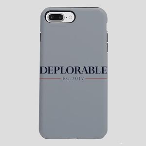 Deplorable Est 2017 iPhone 7 Plus Tough Case