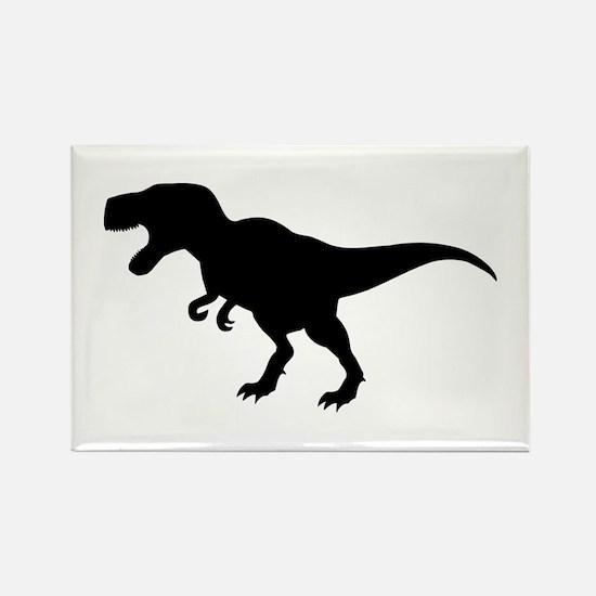 Dinosaur T-Rex Rectangle Magnet