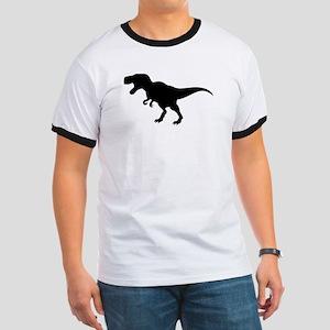 Dinosaur T-Rex Ringer T