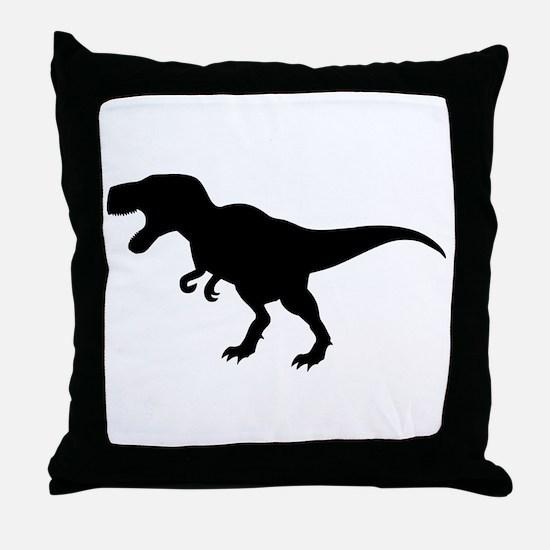 Dinosaur T-Rex Throw Pillow