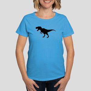 Dinosaur T-Rex Women's Dark T-Shirt