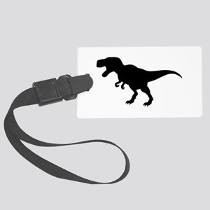 Dinosaur T-Rex Large Luggage Tag