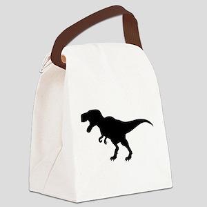 Dinosaur T-Rex Canvas Lunch Bag