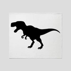 Dinosaur T-Rex Throw Blanket