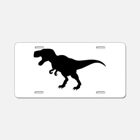 Dinosaur T-Rex Aluminum License Plate