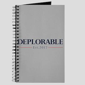 Deplorable Est 2017 Journal