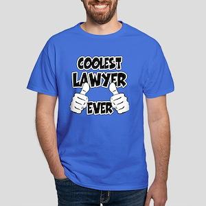 Coolest Lawyer Ever Dark T-Shirt