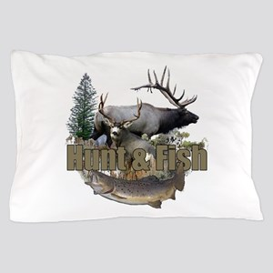 Hunt and Fish Pillow Case