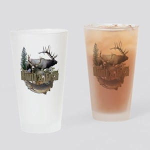 Hunt and Fish Drinking Glass