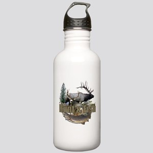 Hunt and Fish Stainless Water Bottle 1.0L