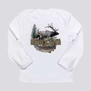 Hunt and Fish Long Sleeve Infant T-Shirt