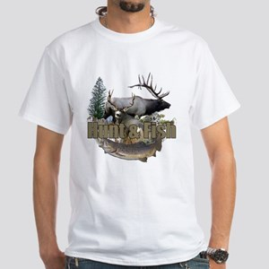 Hunt and Fish White T-Shirt