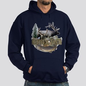 Hunt and Fish Hoodie (dark)