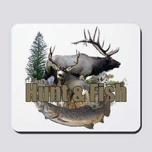 Hunt and Fish Mousepad