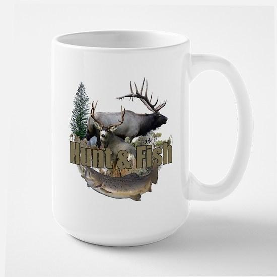 Hunt and Fish Large Mug