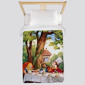 Mad Hatter's Tea Party Twin Duvet