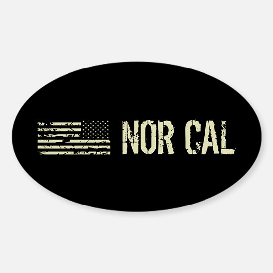 Black Flag: Nor Cal Sticker (Oval)