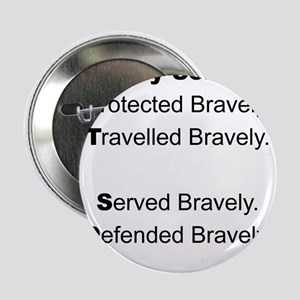 """PTSD - My Son Protected 2.25"""" Button"""