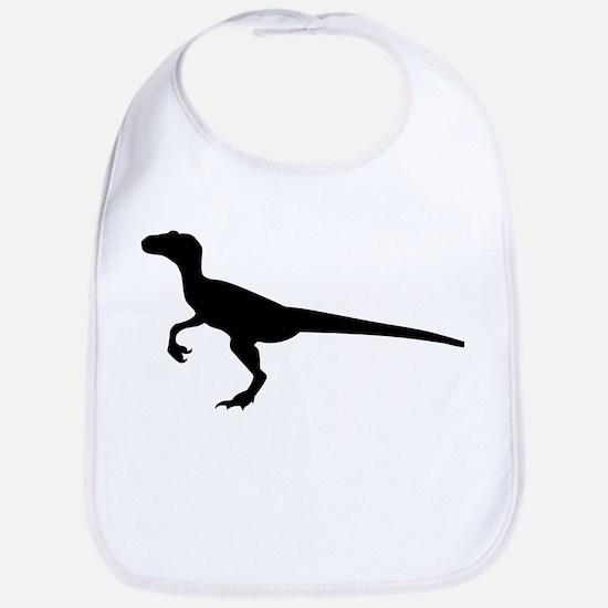 Dinosaur velociraptor Bib