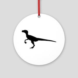 Dinosaur velociraptor Ornament (Round)