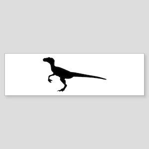 Dinosaur velociraptor Sticker (Bumper)