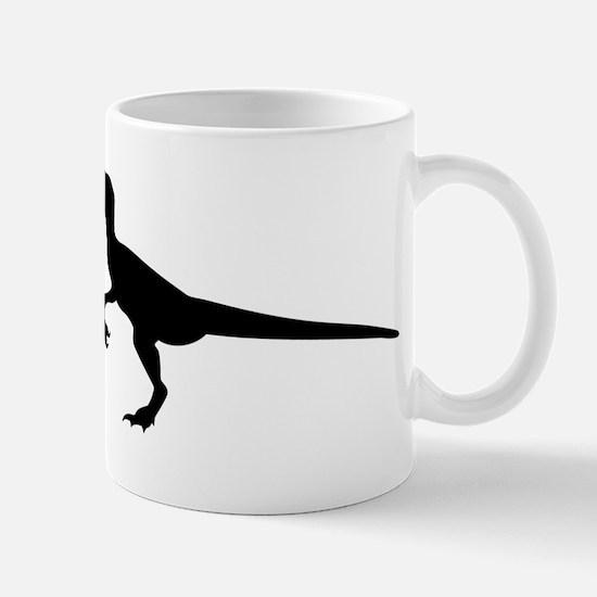 Dinosaur velociraptor Mug