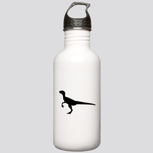 Dinosaur velociraptor Stainless Water Bottle 1.0L