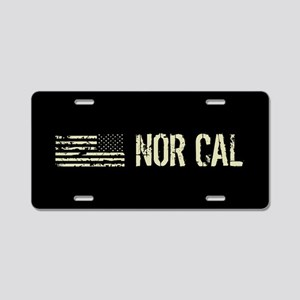 Black Flag: Nor Cal Aluminum License Plate