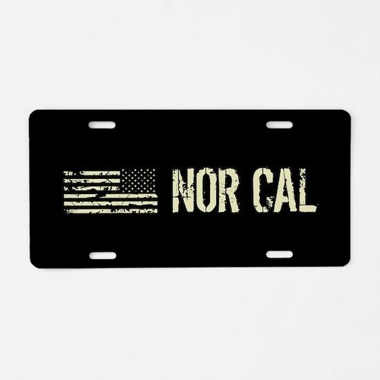 Black Flag: Nor Cal Aluminum License Plate