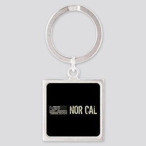 Black Flag: Nor Cal Square Keychain