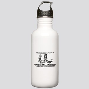 USS Saratoga Stainless Water Bottle 1.0L