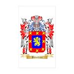 Beneteau Sticker (Rectangle 10 pk)
