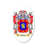 Benet 20x12 Oval Wall Decal