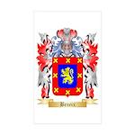 Beneix Sticker (Rectangle 50 pk)