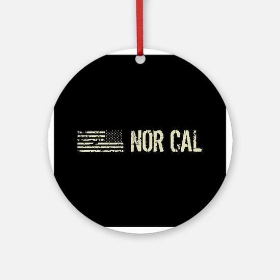 Black Flag: Nor Cal Round Ornament
