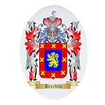 Benedito Ornament (Oval)