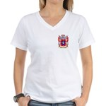 Benediktsson Women's V-Neck T-Shirt