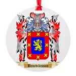 Benediktsson Round Ornament