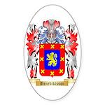 Benediktsson Sticker (Oval 10 pk)