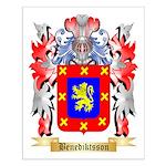 Benediktsson Small Poster