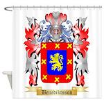 Benediktsson Shower Curtain