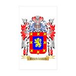 Benediktovich Sticker (Rectangle 50 pk)
